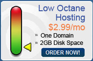 Low Octane Hosting Plan